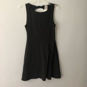 PINK black skater dress NWT